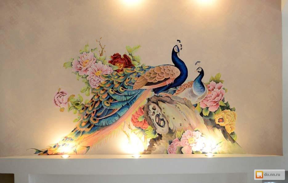 Время росписи стен