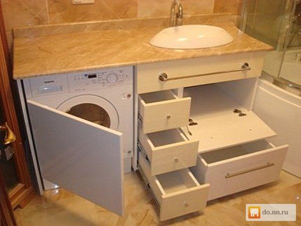 Как сделать для ванны мебель