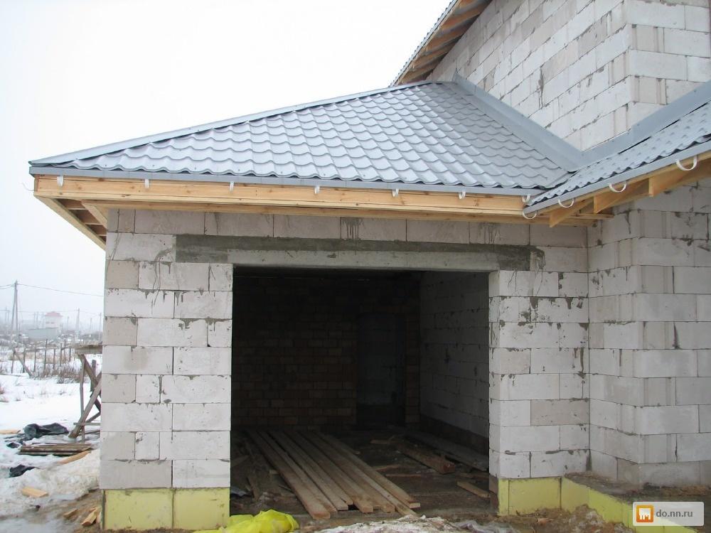 Крыша гаража своими руками цена