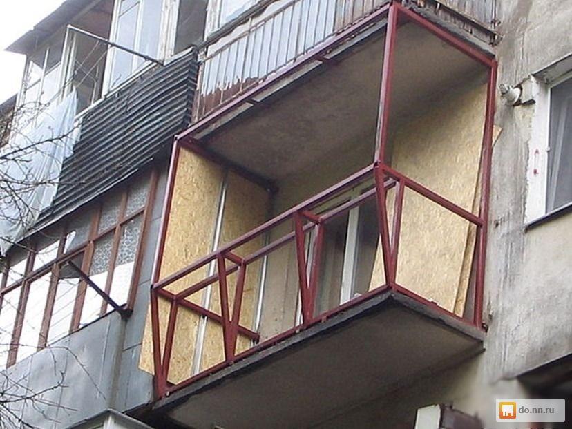 Как застеклить открытый балкон своими руками