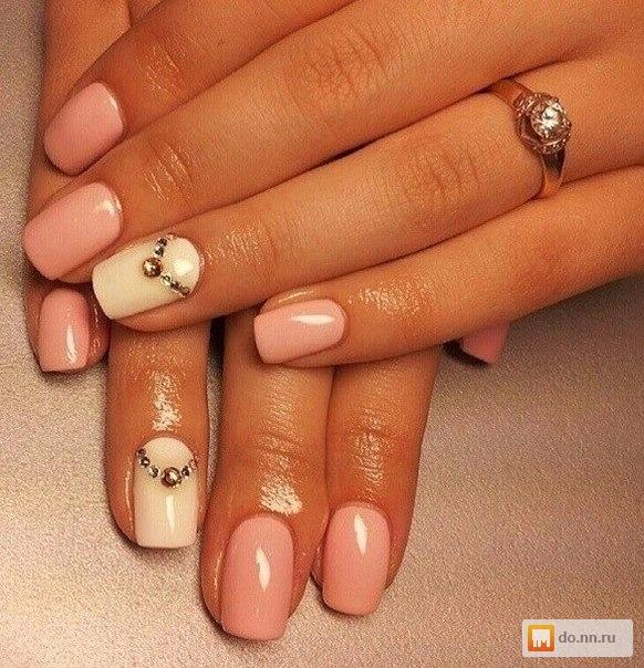Классическое покрытие ногтей гель лаком