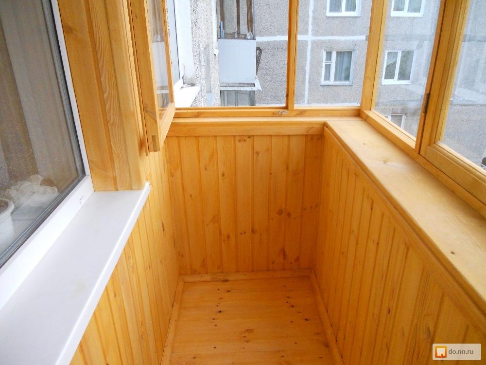 Балконы и лоджии (пластик и дерево) . цена - договорная., ни.