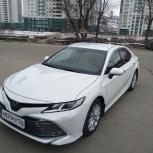 Аренда автомобилей TOYOTA CAMRY V70 на свадьбу, Нижний Новгород