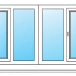 Балкон ПВХ Одностворчатые профиль алюминиевый 70мм стеклопакет 24мм, Нижний Новгород