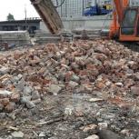 Кирпич, бетон битый, драблёный, Нижний Новгород
