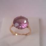 Кольцо золотое с александритом редкое, 750 проба, Нижний Новгород