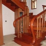 Лестница из массива дерева за 21 день, постоплата, Нижний Новгород