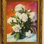Продам яркую картину с цветами пионы, Нижний Новгород