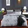 Комплект постельного белья Сатин вышивка CN032 Eвро 4 наволочки, Нижний Новгород