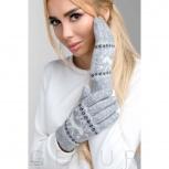 Теплые перчатки с рисунком, Нижний Новгород