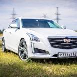Аренда автомобиля CADILLAC CTS III на свадьбу, Нижний Новгород