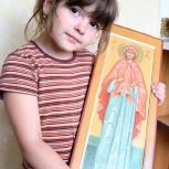 рукописная мерная икона на заказ, Нижний Новгород