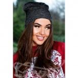 Меланжевая трикотажная шапка, Нижний Новгород