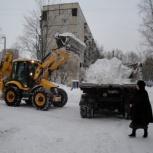 Уборка снега, Нижний Новгород
