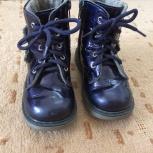 Продам ботинки демисезонные на девочку, р-р. 25, Нижний Новгород