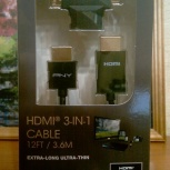 Кабель hdmi Pny (C-H-A10-A12-3N1-RB) Smart Active, Нижний Новгород