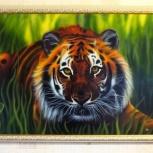 """Продам картину с животным """"Тигр"""", Нижний Новгород"""
