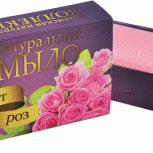 Мыло натуральное твердое Букет роз, 75 г, Нижний Новгород