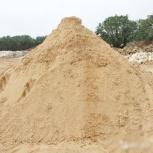 Карьерный песок фракции 0,8 - 1,8 мм. Газ, Камаз, Нижний Новгород