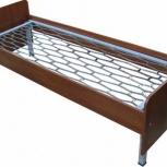 Одноярусные металлические кровати эконом-класса от производителя, Нижний Новгород