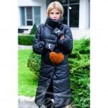 Объемное стеганое пальто, Нижний Новгород