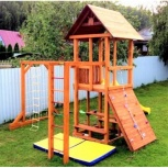 Москва Детская игровая деревянная площадка для дачи «Мадрид 1 Д», Нижний Новгород
