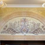 Роспись стен, мебели, барельефы, Нижний Новгород