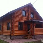 Дома из оцилиндрованного и рубленого бревна, каркасные дома, Нижний Новгород
