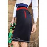 Контрастная юбка-карандаш, Нижний Новгород
