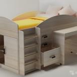 Кровать чердак со столом новая доставка бесплатно, Нижний Новгород