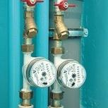 Монтаж, установка счетчиков на газ, холодную и горячую воду, Нижний Новгород