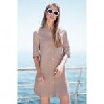 Льняное платье-рубашка, Нижний Новгород