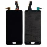 MEIZU Модуль (дисплей+тачскрин) для телефона Meizu U10, Черный (Black), Нижний Новгород