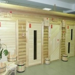 Двери для бани и сауны из липы, Нижний Новгород