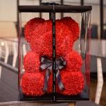 Мишка из роз(ручная работа) — роскошный подарок для дорогого человека, Нижний Новгород
