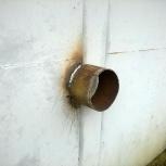 Защитное кольцо на навесные замки дверей ворот, Нижний Новгород