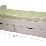 Кровать с ящиками новая с доставкой бесплатно при, Нижний Новгород
