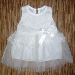 Новое платье для малышки, 7-12 мес, Нижний Новгород