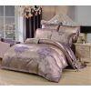 Комплект постельного белье жаккард с вышивкой H054 Дуэт 4 наволочки, Нижний Новгород