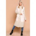 Комбинированное женское пальто, Нижний Новгород