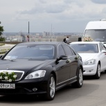 Аренда автомобилей на свадьбу, юбилей, торжество, Нижний Новгород