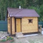 Каркасная баня 2,2*4 метра под ключ, Нижний Новгород