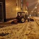 Услуги трактора (мтз 82 щетка) расчистка территории от снега, Нижний Новгород