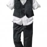 Рубашка + жилет + брюки р.86(большемерит на размер), Нижний Новгород