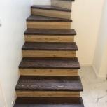 Лестница из массива лиственницы, Нижний Новгород