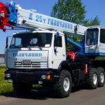 Аренда автокрана 25 тонн 28 метров вездеход, Нижний Новгород