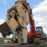 Аренда экскаватора гусеничного с гидроножницами (металл/бетон), Нижний Новгород