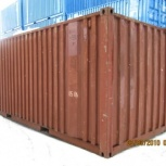 Предлагаем контейнеры морские, железнодорожные 20; 40 фут. б/у, Нижний Новгород