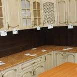 Кухня дуб беленый патина золото новая с доставкой, Нижний Новгород