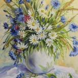 картина полевые цветы, Нижний Новгород
